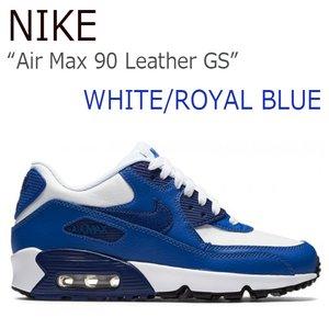 宅配便配送 【送料無料】NIKE Air Blue/Game Max 90 Air Leather GS/White Max/Royal Blue/Game Royal/Black【ナイキ】【エアマックス】【833412-105】 シューズ NIKE/Air Max 90 LTR GS/White/Royal Blue/833412-105, clover(クローバー):4e8497ba --- peggyhou.com