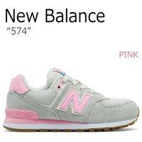 7f4d15a586336 送料無料 ニューバランス スニーカー NEW BALANCE 574 レディース PINK ピンク GRAY .