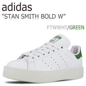 【数量は多】 送料無料 グリーン STAN アディダス スタンスミス adidas レディース STAN S32266 SMITH BOLD W ボールド プラットフォーム 厚底 WHITE GREEN ホワイト グリーン S32266 シューズ アディダス スタン スミス ADIDAS stansmith bold platform white, e-mono plus:3c572d6b --- fukuoka-heisei.gr.jp