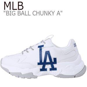 低価格で大人気の エムエルビー スニーカー MLB メンズ レディース BIG BALL CHUNKY A ビッグ ボール チャンキー A WHITE ホワイト Los Angeles Dodgers ロサンゼルスドジャース 32SHC1911-07W 32SHC1011-07W シューズ, SEKIDO RC SELECT aeeebf13