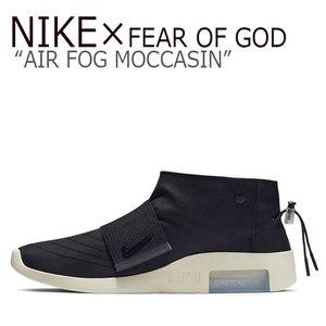 【限定特価】 ナイキ スニーカー モカシン NIKE x FEAR FOG ブラック OF GOD フィアオブゴット コラボ メンズ レディース AIR FOG MOCCASIN エアフィアオブゴット モカシン BLACK ブラック AT8086-002 シューズ ナイキスニーカー Nike nike × fear of god moccasin フィアオブゴットコラボ ナイキコラボスニーカー, ラミネート専門店TOSショップ:ee5a97ea --- edneyvillefire.com