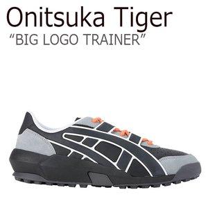 【第1位獲得!】 オニツカタイガー スニーカー Onitsuka Tiger メンズ レディース BIG LOGO TRAINER ビッグロゴ トレーナー BLACK BLACK ブラック 1183A419‐001 シューズ, 酒天美禄 いとう酒店 939741d0