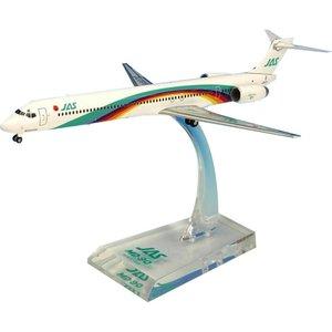 無料発送 JAL/日本航空 JAS MD-90 7号機 ダイキャストモデル 1/200スケール BJE3040, ブールミッシュ 48b923f8