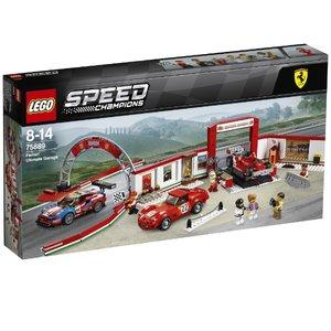 新規購入 レゴ スピードチャンピオン フェラーリ・アルティメット・ガレージ 75889【新品】 LEGO 知育玩具, ツルダチョウ 5f0a3c7a