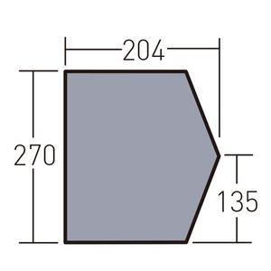 国内最安値! キャンパルジャパン CAMPAL JAPAN PVCマルチシート ネオキャビン用 1432, ミヨシシ 79c49a22