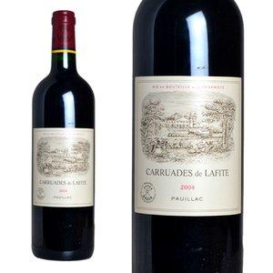 【高価値】 カリュアド (フランス・ド・ラフィット ポイヤック 2004年 シャトー・ラフィット・ロートシルト セカンドラベル 750ml 750ml (フランス ボルドー ポイヤック 赤ワイン) メドック格付第一級の筆頭、ラフィットロートシルトの2ndラベル, PLEINE:70adec39 --- frmksale.biz