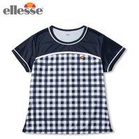 b70061ed63760 エレッセ ellesse テニスウェア ゲームシャツ レディース ショートスリーブチームクル.