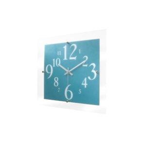 人気提案 ミスティナンバークロック 電波時計 ブルー V-055, トッテオキーノ(totteoquino) e95e6416