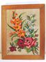 パリのヴィンテージ、ゴブラン織りの絵画(花)