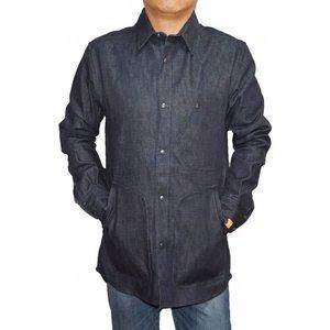 最新人気 ジースターロウ 秋物 G-STAR RAW ジャケット by マークネルソン オーバーシャツ RAW ジャケット カバーオール メンズ インディゴ 春物 秋物 ネイビー セルビッチデニム 並行輸入物ではなく、国内正規品 ジースターインターナショナルの商品です。, 奈良県:0413a4cb --- frmksale.biz