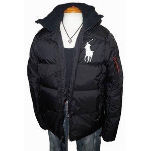 9ddba782295d6 ポロ ラルフローレン Polo RALPH LAUREN ダウンジャケット ビッグポニー メンズ 冬物 ブラック 防寒