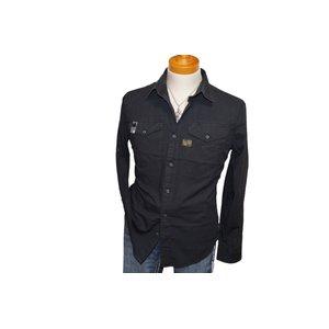 輝い ジースターロウ 長袖シャツ ブラック 黒 kud kud g121314 メンズ G-STAR RAW メンズ ブラック 春物 ジースターロゥ, しーえるCL ウェディングドレス:6105fc24 --- turkeygiveaway.org