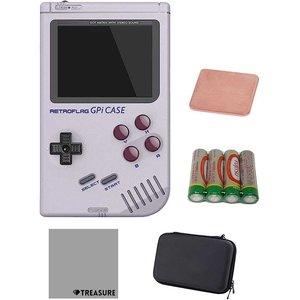 【あすつく】 レトロゲーム風ラズベリー パイケース GPi Case Raspberry Zero W セミケース/ヒートシンク/クロス/単三電池*4付(GPiケース), 四季の宝箱 3d91e86f