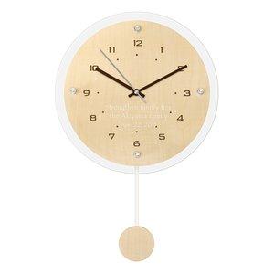 人気定番の 贈り物 ギフトレリーフセット ペンデュラムクロック アンティール ナチュラル (電波時計) レリーフクロック, 菜匠の里 すが野 c1dd5312