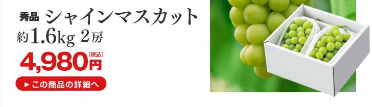 山形県産シャインマスカット