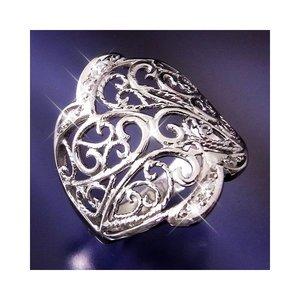 2020人気特価 【送料無料】透かし彫りダイヤリング 指輪 21号 ファッション リング・指輪 天然石 ダイヤモンド レビュー投稿で次回使える2000円クーポン全員にプレゼント, カーマット専門店トリプルクラウン 31ed335a