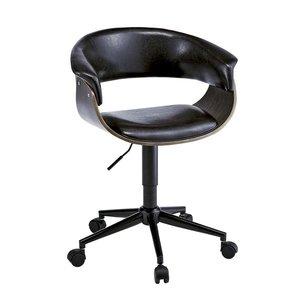 大人女性の 10000円以上送料無料 ビンテージ風 ワークチェア ビンテージ風 椅子/リビングチェア【ブラック】 座面回転昇降式 キャスター・背もたれ付き 座面回転昇降式 張地:合成皮革/合皮 生活用品・インテリア・雑貨 インテリア・家具 椅子 その他の椅子 レビュー投稿で次回使える2000円クーポン全員にプレゼント 品質、保証もしっかりさせていただきます, 【即納&大特価】:92f5d896 --- frmksale.biz