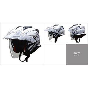 1着でも送料無料 バイザーの脱着が可能 生活用品・インテリア・雑貨 アドベンチャーヘルメット!! AIACE(アイアス) アドベンチャーヘルメット Lサイズ ホワイト バイク用品 生活用品・インテリア・雑貨 バイク用品 ヘルメット レビュー投稿で次回使える2000円クーポン全員にプレゼント 品質、保証もしっかりさせていただきます, 京都祝着洛寿:93198c89 --- showyinteriors.com