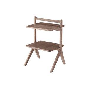定番 10000円以上送料無料 木製 サイドテーブル/ミニテーブル ダイニング【ブラウン】 幅45cm 木製 棚板2枚 〔リビング 〔リビング ダイニング ベッドルーム 寝室〕 生活用品・インテリア・雑貨 インテリア・家具 テーブル サイドテーブル、ナイトテーブル 木製、天然木 レビュー投稿で次回使える2000円クー 品質、保証もしっかりさせていただきます, Agape:4b1073f2 --- pyme.pe