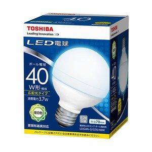 超人気の 【送料無料】(まとめ) 東芝ライテック LED電球 ボール電球形40W形相当 3.7W E26 昼白色 LDG4N-G/G70/40W 1個 【×10セット】 家電 電球 一般電球 レビュー投稿で次回使える2000円クーポン全員にプレゼント, 舞乃市 34c03b8f