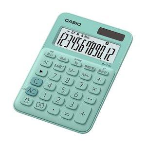 【即納&大特価】 【送料無料】(まとめ) カシオ カラフル電卓 ミニジャストタイプ12桁 ミントグリーン MW-C20C-GN-N 1台 【×10セット】 生活用品・インテリア・雑貨 文具・オフィス用品 電卓 レビュー投稿で次回使える2000円クーポン全員にプレゼント, あこがれゆめ 4392a34b