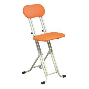 【残りわずか】 10000円以上送料無料 椅子 シンプル 折りたたみ椅子【オレンジ×ミルキーホワイト 幅330mm】 スチールパイプ 『ニューベストホビーチェア』【 シンプル】 生活用品・インテリア・雑貨 インテリア・家具 椅子 折りたたみチェア レビュー投稿で次回使える2000円クーポン全員にプレ 品質、保証もしっかりさせていただきます, マタニティ&ベビーのStampskids:1dc5faba --- abizad.eu.org