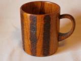 木製マグカップ木目