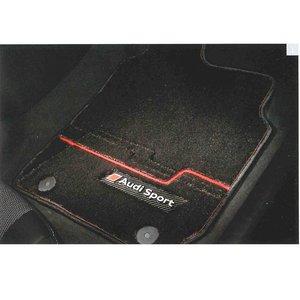 大割引 アウディ(Audi) ブラック 純正 フロアマット フロアマット プレミアムスポーツ Q5 純正 ブラック J8RBM5R14PSB05 Audiクォリティが息づくフロアマット, Accessoires Favori:5d698d9f --- parker.com.vn