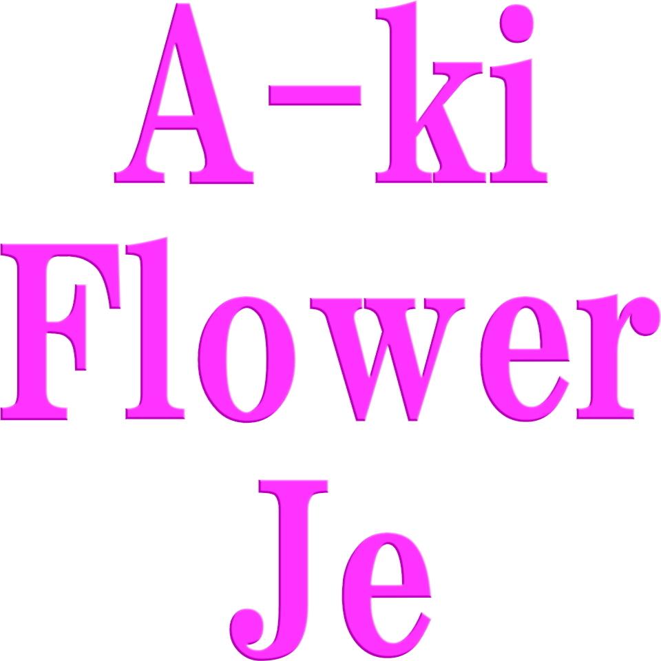 A-ki Flower Je