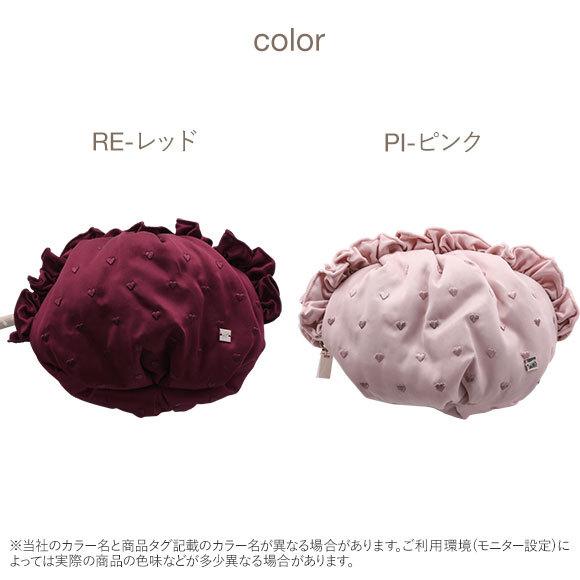 (ジェラートピケ)gelato pique ハート刺繍ポーチ ジェラピケ