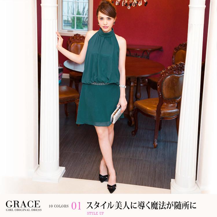 グレースドレス・スタイル美人に導く魔法が随所に・モデル:伊藤ニーナ