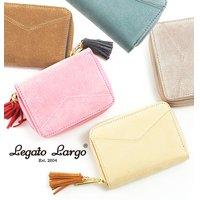 1b21770f1905 財布 レディース Legato Largo レガートラルゴ 通販 二つ折り財布 ラウンドジップ 二.