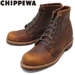 注目のブランド 正規取扱店 CHIPPEWA (チペワ) 1901M26 6inch UTILITY BOOTS 6インチ プレーントゥ ユーティリティブーツ TAN, unfil9(アンフィルナイン) fd76698b