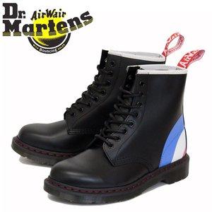 激安通販 正規取扱店 Dr.Martens (ドクターマーチン) 25268001 1460 WHO ザ・フー 8ホール レザーブーツ BLACK, スーパーブッシュ eab37c4b