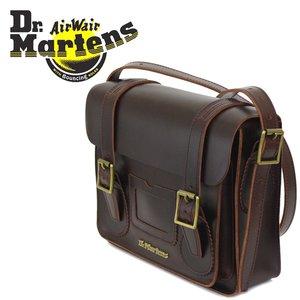 新品本物 正規取扱店 Dr.Martens (ドクターマーチン) AB097230 11インチ Leather Satchel Bag レザーサッチェルバッグ CHARRO BRANDO, ガジェラボ -ガジェット研究所- 08968d05