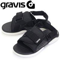 594e4d7b2833b 正規取扱店 gravis (グラビス) 71000 CARDIFF カーディフ 2WAYカジュアルサンダル BLACK GRV008