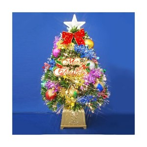 【 開梱 設置?無料 】 クリスマスツリー ファイバーツリー 60cmグリーンファイバーツリーセット12 クリスマスツリー 場所を選ばないコンパクトサイズの本格ツリーセットです。, 久井町:b7259b9f --- rise-of-the-knights.de