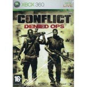 100 円便OK ~新品~~Xbox360 ~~アジア版~Conflict Denied Ops 在庫品