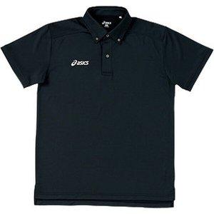 トレーニング用 ボタンダウンシャツ XA6134 [カラー:ブラック] [サイズ:M] #XA6134 アシックス 9500円以上購入で送料無料