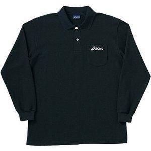 アシックス ASICS トレーニング用 ロングスリーブポロシャツ [カラー:ブラック] [サイズ:L] #XA6133 9500円以上購入で送料無料