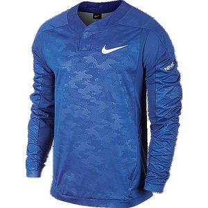 ナイキ NIKE ベースボールベイパーウインド ロングスリーブシャツ [カラー:ゲームロイヤル×ホワイト] [サイズ:L] #704707-480 9500円以上購入で送料無料