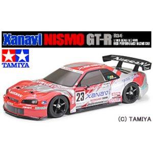 2019年新作入荷 送料無料 タミヤ タミヤ TAMIYA 1/10 電動RCカー ニスモ ザナヴィ ニスモ 電動RCカー GT-R(R34), 太田市:d8ff6f6d --- vouchercar.com