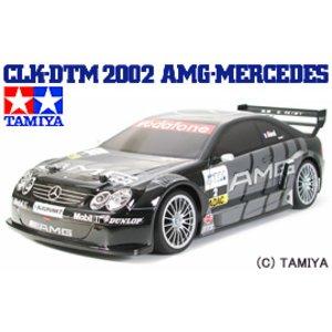 当店だけの限定モデル 送料無料 タミヤ TAMIYA 1/10 電動RCカー CLK-DTM 2002 AMG-メルセデス (TB-02シャーシ), 全日本送料無料 4bf6a1df