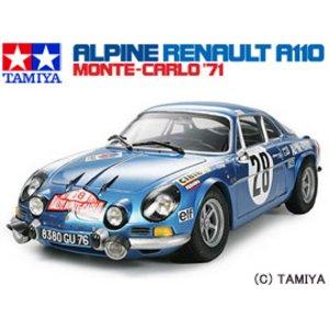 1/24 スポーツカーシリーズ No.278 アルピーヌ ルノー A110 モンテカルロ'71 タミヤ 9500円以上購入で送料無料