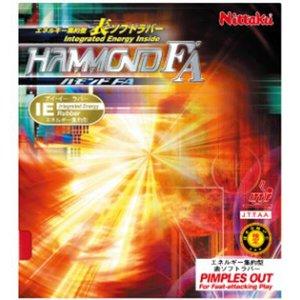 ハモンドFA 卓球ラバー [カラー:レッド] [サイズ:中] #NR-8530-20 ニッタク 9500円以上購入で送料無料