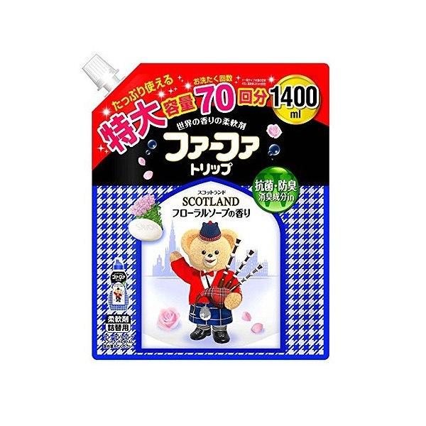 ファーファトリップフローラルソープの香り詰替用1400ml NS ファーファ・ジャパンNS