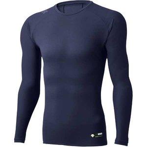 Cネック長袖アンダーシャツ [サイズ:XA] [カラー:Dネイビー] #DBMLJB00-DNVY デサント DESCENTE 9500円以上購入で送料無料(一部地域を除く)