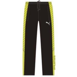 プーマ PUMA トレーニングパンツ メンズ [カラー:ブラック×サルファースプリング] [サイズ:O] #902458 9500円以上購入で送料無料