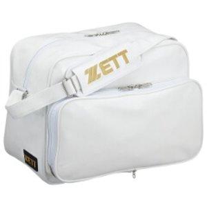 ゼット ZETT 野球用具 セカンドバッグ ショルダータイプ(エナメル製) [カラー:ホワイト] [容量:42L] #BA513 9500円以上購入で送料無料