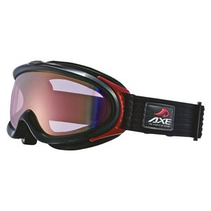 アックス AXE スキーゴーグル AX888‐WCM [カラー:シャイニーブラック×ピンクミラー] #AX888WCM 9500円以上購入で送料無料
